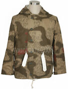 Ww2 German Tanandwater Camo And White Winter Camouflage Reversible Parka In Sizes