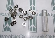 1936-1990 Oldsmobile Molding Emblem Ornament Mounting Clips W/ Tool