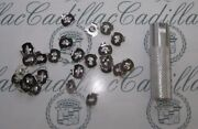 1936-1990 Cadillac Molding Emblem Ornament Mounting Clips With Tool