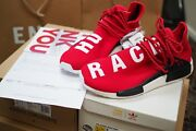 The Og Red Adidas Pharrell Williams Nmd Human Race Uk 11 Us 11.5 46 New Reduced