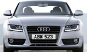 Abw 523 Old Style Dateless Personalised Registration Cherished Number Plate