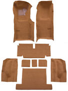 1971-75 Chevrolet Corvette Coupe Auto Complete With Pad 10 Dark Brown Loop Mass