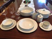 Cranbrook China White Silver Rimmed Vintage Germany