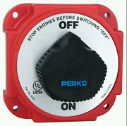 Perko Heavy Duty Battery Disconnect Switch Off - On -9703dp