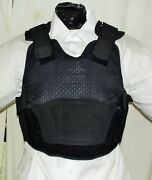 Xl Female Iiia Bulletproof Concealable Body Armor Carrier Vest With Inserts