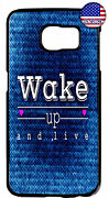 Wake Up And Live Life Quote Rubber Case Cover For Samsung Galaxy Note 10 + 9 8