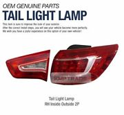 Oem Parts Rear Lamp Tail Light Assembly Right 2ea For Kia 2011 - 2013 Sportage R