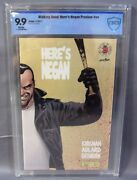 Hereand039s Negan Preview 1 Image Blind Box 1500 Cbcs 9.9 Mint Walking Dead Cgc