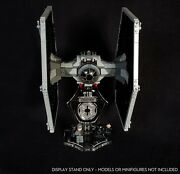 Display Stand 3d + Slots For Lego 9492-75211-75300 Tie Fighter Star Wars