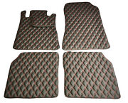 Bespoke Leather Car Floor Mats Fully Tailored Fit Mercedes S-class W140 Long