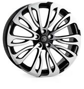 23 Hawke Halcyon Alloy Wheels Fits Range Rover Vogue Sport Discovery Black Pol