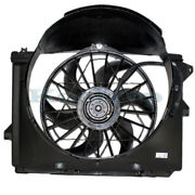 Crown Vic Grand Marquis Towncar Radiator Ac Condenser Cooling Fan Motor Assembly