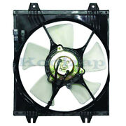 94-98 Galant With Automatic Transmission Ac Condenser Cooling Fan Motor Assembly