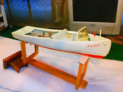 Fairy Craft Model Sea Craft Speed Boat Toy Auburn 1940 Celluloid For Parts Rare