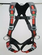Msa 10105936 Full Body Safety Harness With Rfid Chip Technology