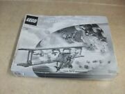 Lego 3451 Black And White Box Sopwith Camel Airplane New Sealed In Box Very Rare