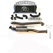 Legendex 3 Stainless Dpf Back Exhaust And Intercooler B For Ford Ranger Px 3.2lt