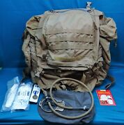 Large Military Backpack With Polymer Frame And Accessories By Kwikpoint