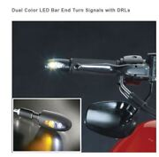 Universal Motorcycle Dual Color Led Bar End Turn Signals With Drls Kellerman