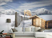 Frozen Distant House 3d Full Wall Mural Photo Wallpaper Printing Home Kids Decor
