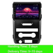 Android 10.0 Car Gps Dvd Radio Stereo Bluetooth For Ford F150 2013 2014 Auto Air