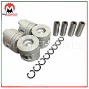 Rebuild Kit Mitsubishi Pajero 4m41-t Pistons Rings Bearings And Full Gasket Kit