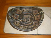 MId Century Modern Art Pottery Tray Signed by Artist.