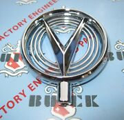 1955 Buick Hood Ornament 1958 Buick Fender Ornament. Chrome. Free Shipping