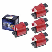 Set Of 4 Herko B039he Ignition Coils For Cadillac Chevrolet Gmc Hummer 99-06
