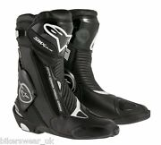 Alpinestars Smx S-mx Plus Gore Tex Motorcycle Racing And Sport Boots - Gore Tex