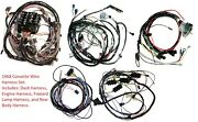 1968 Corvette Wiring Harness Set Complete Us Made Reproduction C3 New