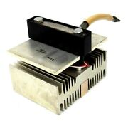 Used Baldor Reliance 602912-3aw Rectifier Stack With Heat Sink 6029123aw