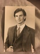 Phil Macgregor 4x6 Hand Signed Autograph Guiding Light, Loving
