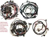 1969 Corvette Wiring Harness Set Without Air Conditioning Us Reproduction C3 New