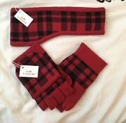Coach Ear Warmer And Mittens/gloves