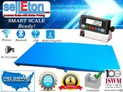 New 48 X 48 Pallet Size Floor Scale With A Ramp 2500 Lb Capacity