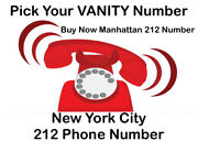212 Ny Number - Vanity 212 Area Code Phone Number - Nyc Manhattan 212 Area Codes