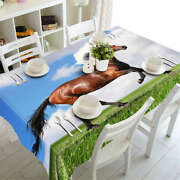 Long Skinny Legs 3d Tablecloth Table Cover Cloth Rectangle Wedding Party Banquet