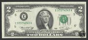 Fr. 2 1976 Federal Reserve Note. Choice Uncirculated. Error