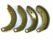 Brand New 1946 1947 1948 Plymouth P15 Brake Shoes Pads Deluxe Special Deluxe