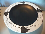 Modern Spanish Mediterranea Studio Art Pottery Centerpiece Fruit Bowl Handmade!