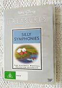 Silly Symphonies – Dvd, 2-disc Set, Region-4, Like New, Free Shipping Aus-wide
