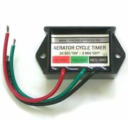 Automatic Cycling 12v Livewell Aerator Timer Switch Fish Boat Controller Lws-m