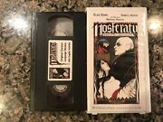 Nosferatu The Vampire Vhs 1979 Horror See Jack The Ripper And Salem's Lot