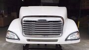 Freightliner Columbia 120 Hood New Aftermarket Complete W Headlights And Grill