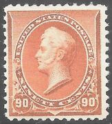 229 Vf Mnh Og-90andcent Perry-fresh Stamp-great Gum With Pf Certificate Rem 229-2