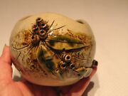 Handmade Hand Applied Pottery Pot Australia Florence Brook 5 x 4 Inches