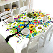 A Wonderful Tree 3d Tablecloth Table Cover Cloth Rectangle Wedding Party Banquet