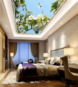Gross Purified Peony 3d Ceiling Mural Full Wall Photo Wallpaper Print Home Decor