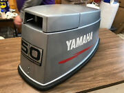 1984 Yamaha Pro 50 Hp 2 Stroke Outboard Top Cowl Hood Cover Freshwater Mn